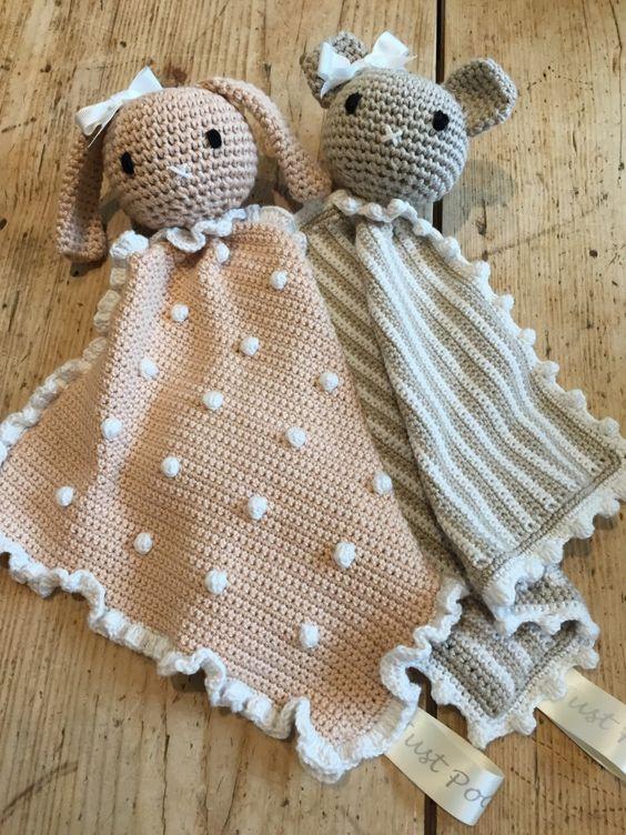 Animal Taggy Crochet Blankets!