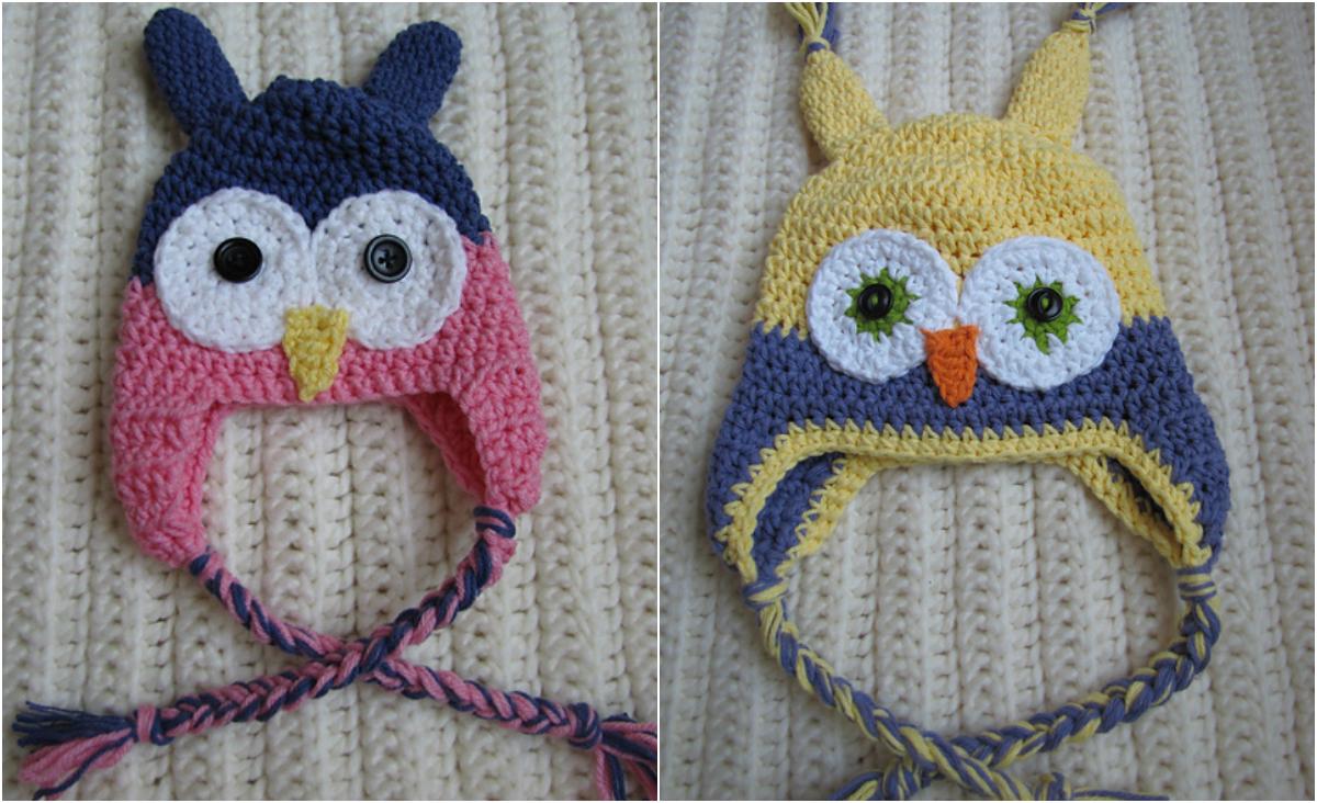 Free Crochet Owl Hat Pattern Toddler : Easy Crochet Toddler Owl Hat - Free Pattern