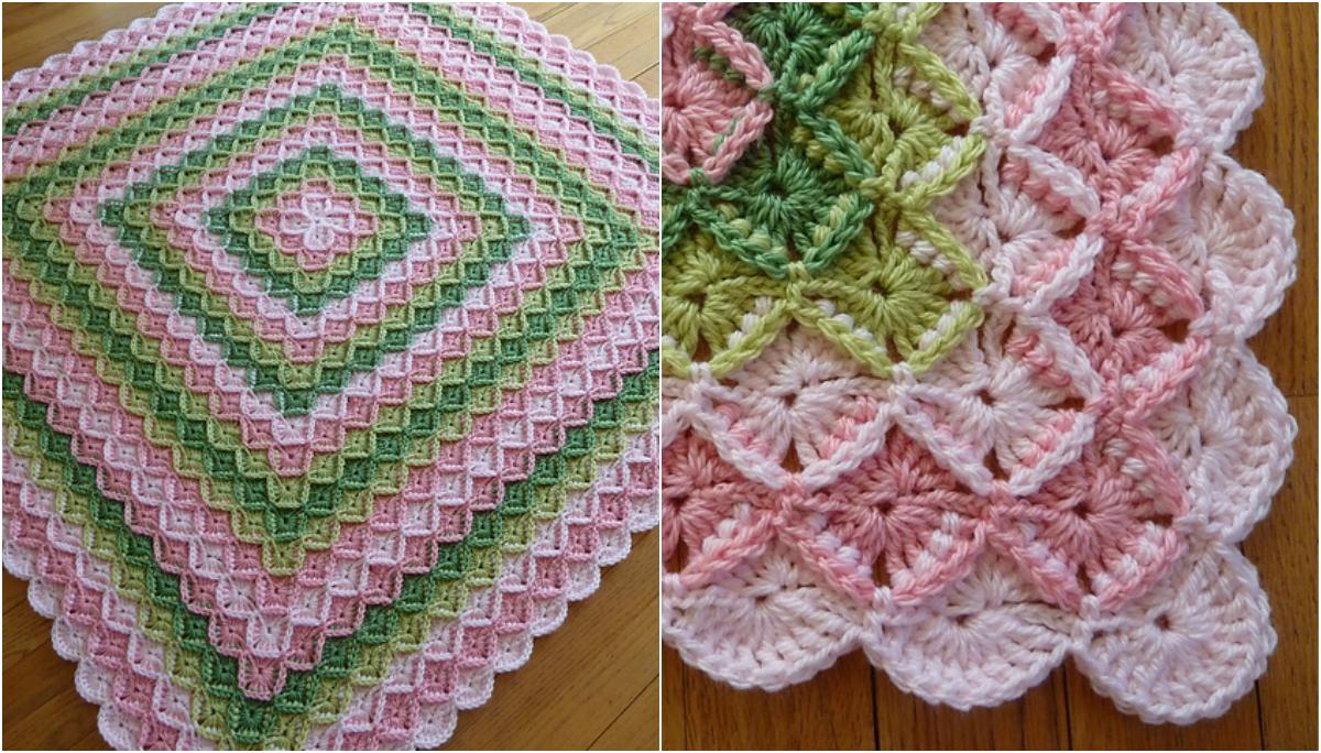 Blanket crochet ideas part 2 bavarian crochet baby blanket free pattern video tutorial baditri Image collections