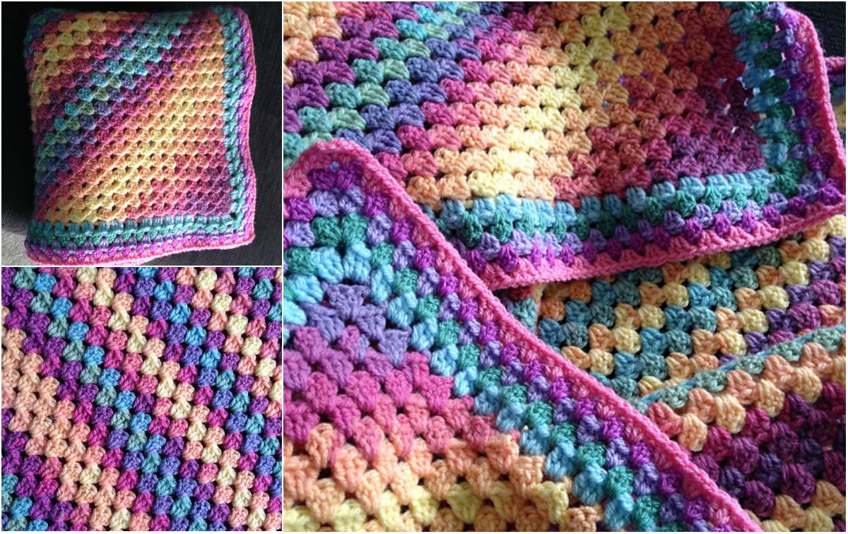 Afghan Crochet Granny Square