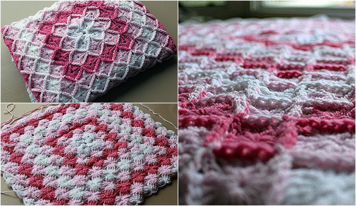The Wool Eater Blanket - Free Pattern & Video Tutorial