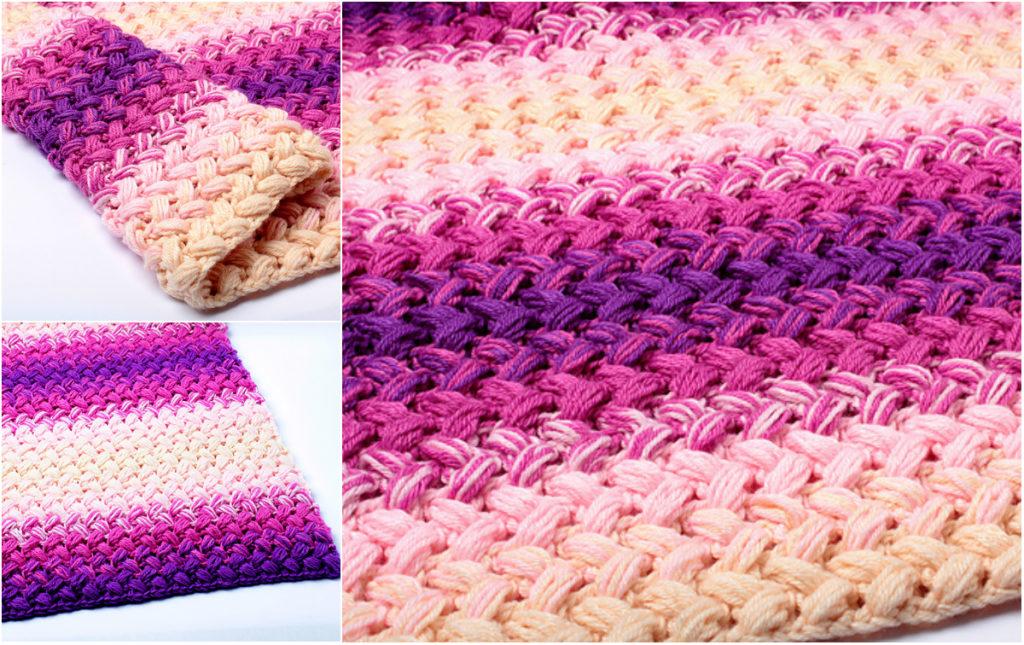 Zig Zag Crochet Blanket Free Pattern
