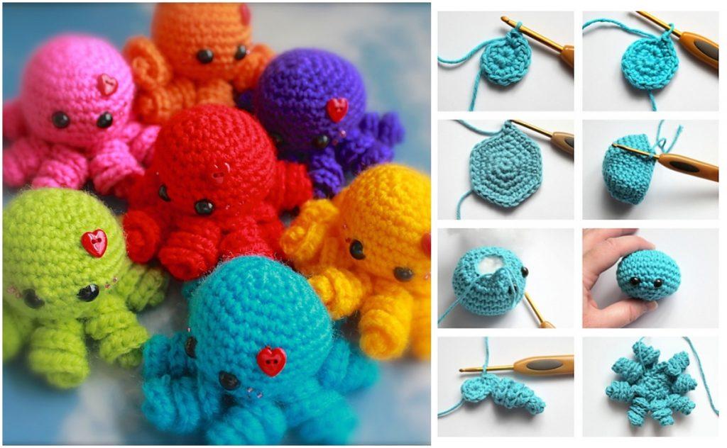 Amigurumi Octopus Free Pattern #crochet #amigurumi #häkeln ... | 632x1024