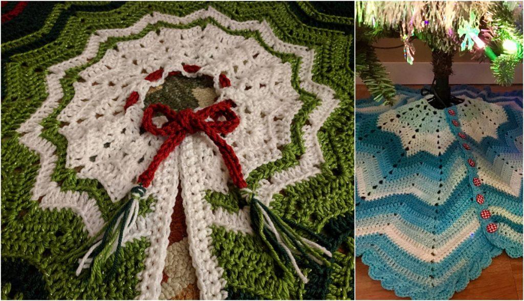 Crochet Christmas Tree Skirt Ideas