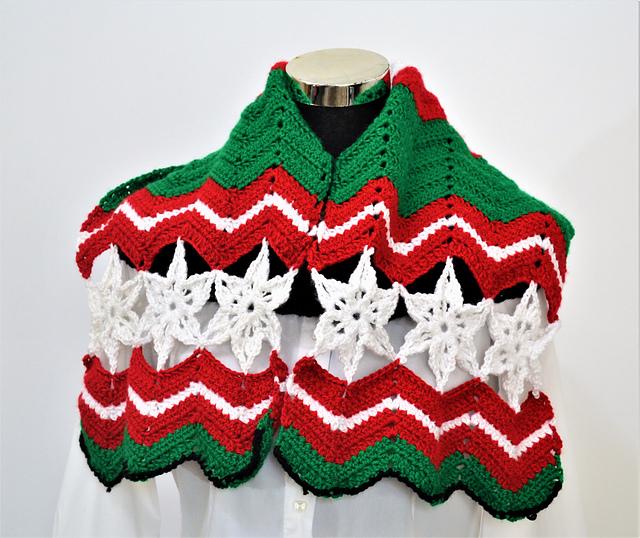Easy Christmas Scarf Free Crochet Pattern